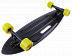 "Лонгборд Tech Team Fishboard 31"" 2021 black"