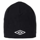 Шапка Umbro Logo beanie 061 black/white