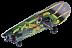 Скейтборд Tech Team Vulcan 2021 green/black
