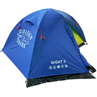Палатка Golden Shark Night 2 GS-NIGHT-2 Blue