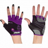 Перчатки для фитнеса Starfit SU-113 Black/Purple/Grey